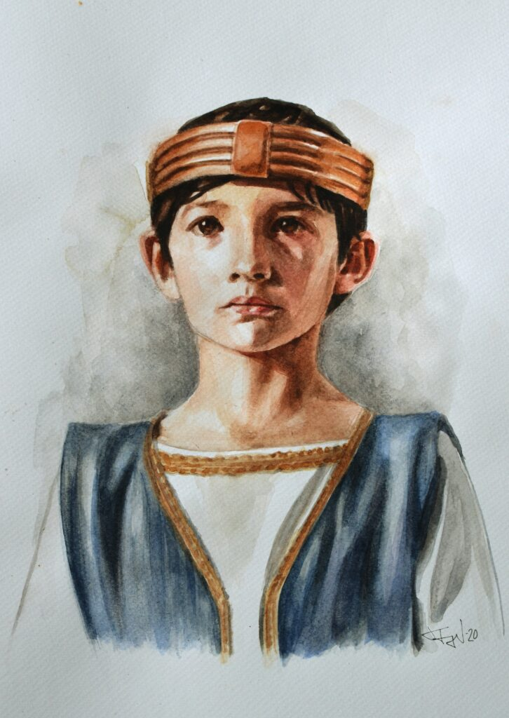 boy with crown